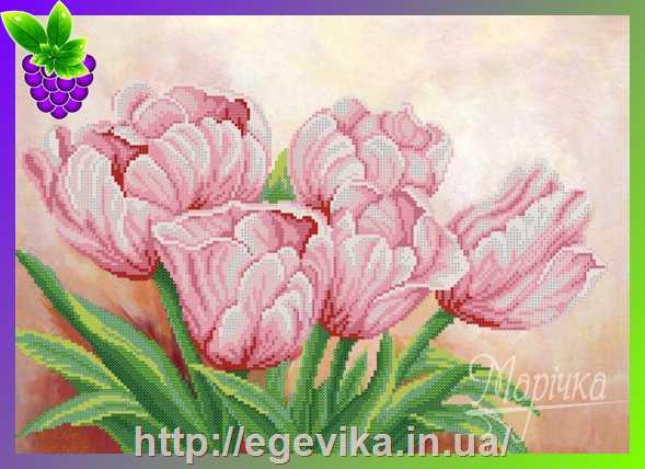 Наборы для вышивания бисером тюльпаны купить купитьцветы в новосибирске