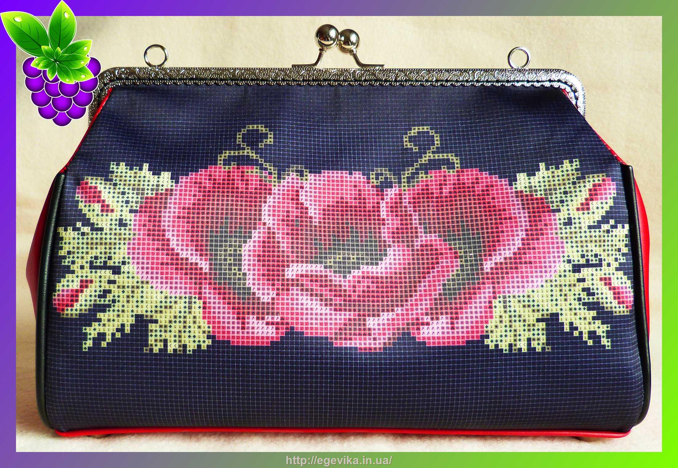 Вышивка бисером сумочка 23