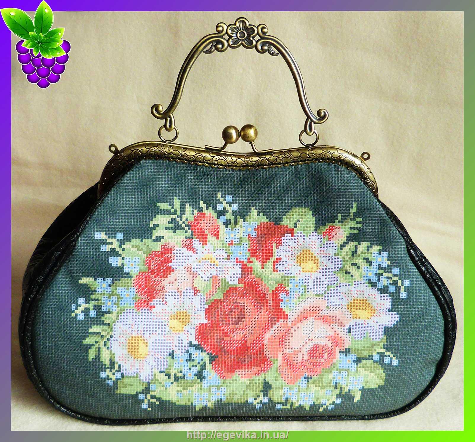Заготовки для сумок вышивка 152