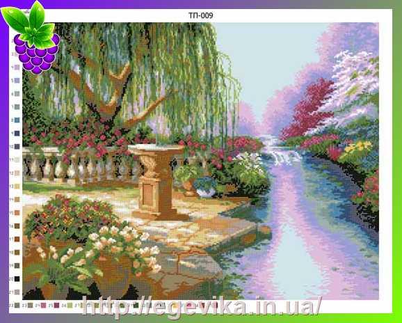 Вышивки бисером пейзаж