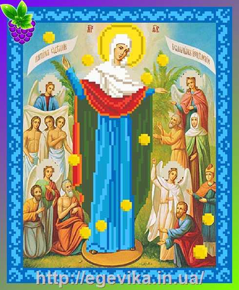 Вышивка крестом всем скорбящим радость
