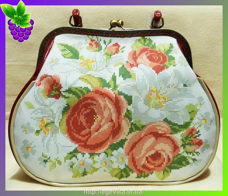 Заготовки вышивки сумок бисером