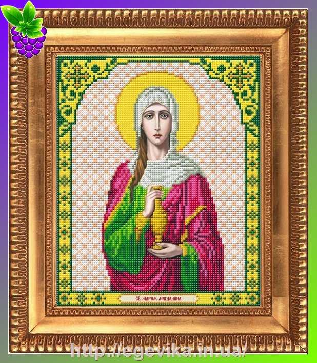 Икона мария магдалина вышивка
